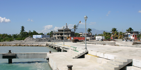 Dock rehabilitation and administrative buildings construction supervision of the Les Cayes maritime base, Haiti