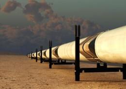 La construction du nouveau gazoduc GR5 en Algérie